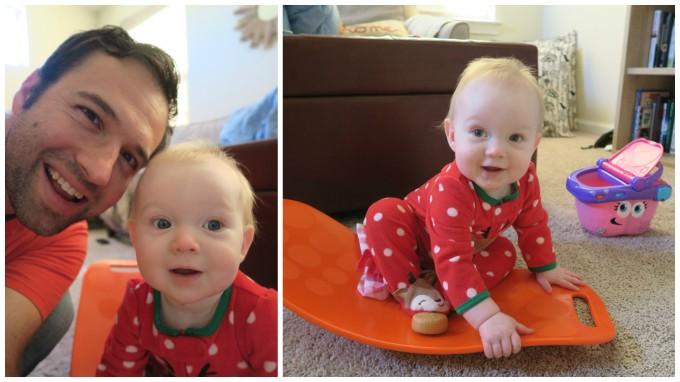 Dear Holly: Daddy's Little Sweetie/Simply Fit Board as Seen on Shark Tank