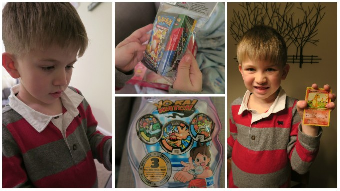 Dear Jack: Your 1st Valentine's Day as a Big Brother in Kindergarten (Pokemon Cards and Yo-kai Watch Coins)