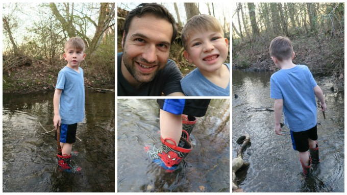Dear Jack: Our Water Treks of Manliness in February 2017 (Harvey Park/McCutcheon Creek)
