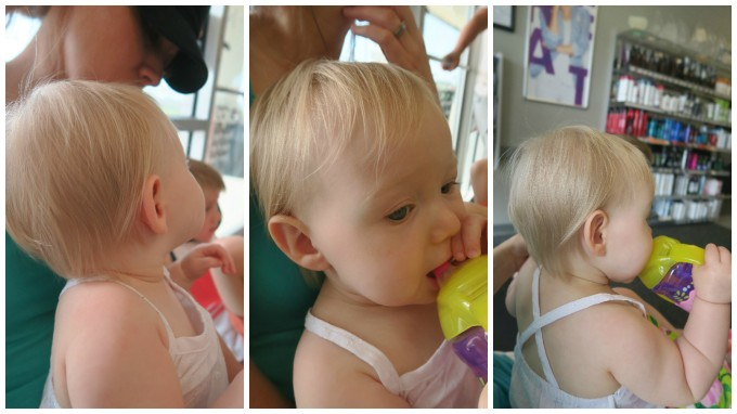 First Haircut Family Friendly Daddy Blog
