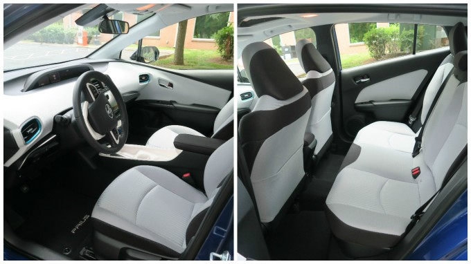 2017 toyota prius three child car seat space in the back seat putting the car in reverse and. Black Bedroom Furniture Sets. Home Design Ideas