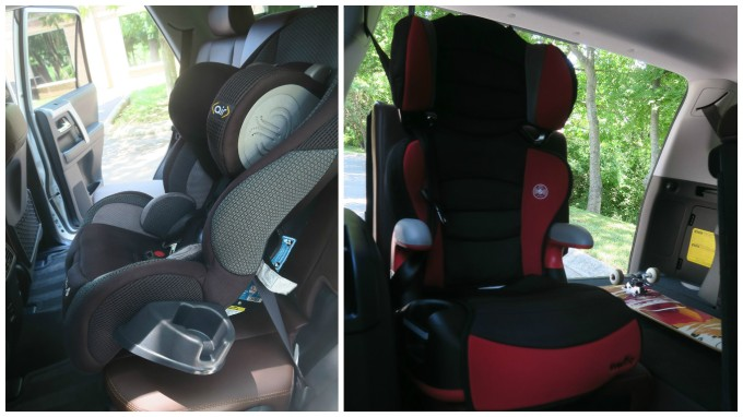 2017 Toyota 4runner 3rd Seat Space And Car Seat Placement Videos