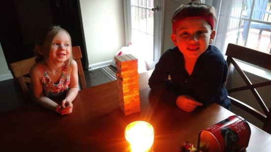 Dear Jack: Jenga by Candlelight